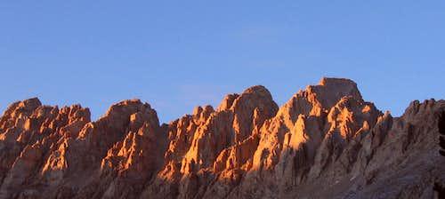 Mount Corcoran & LeConte Ridgeline