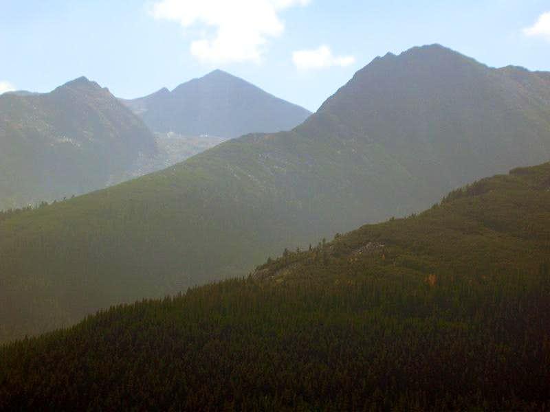 the ridges of Retezat