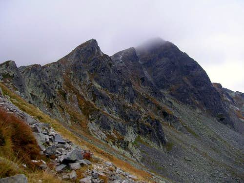 the main ridge