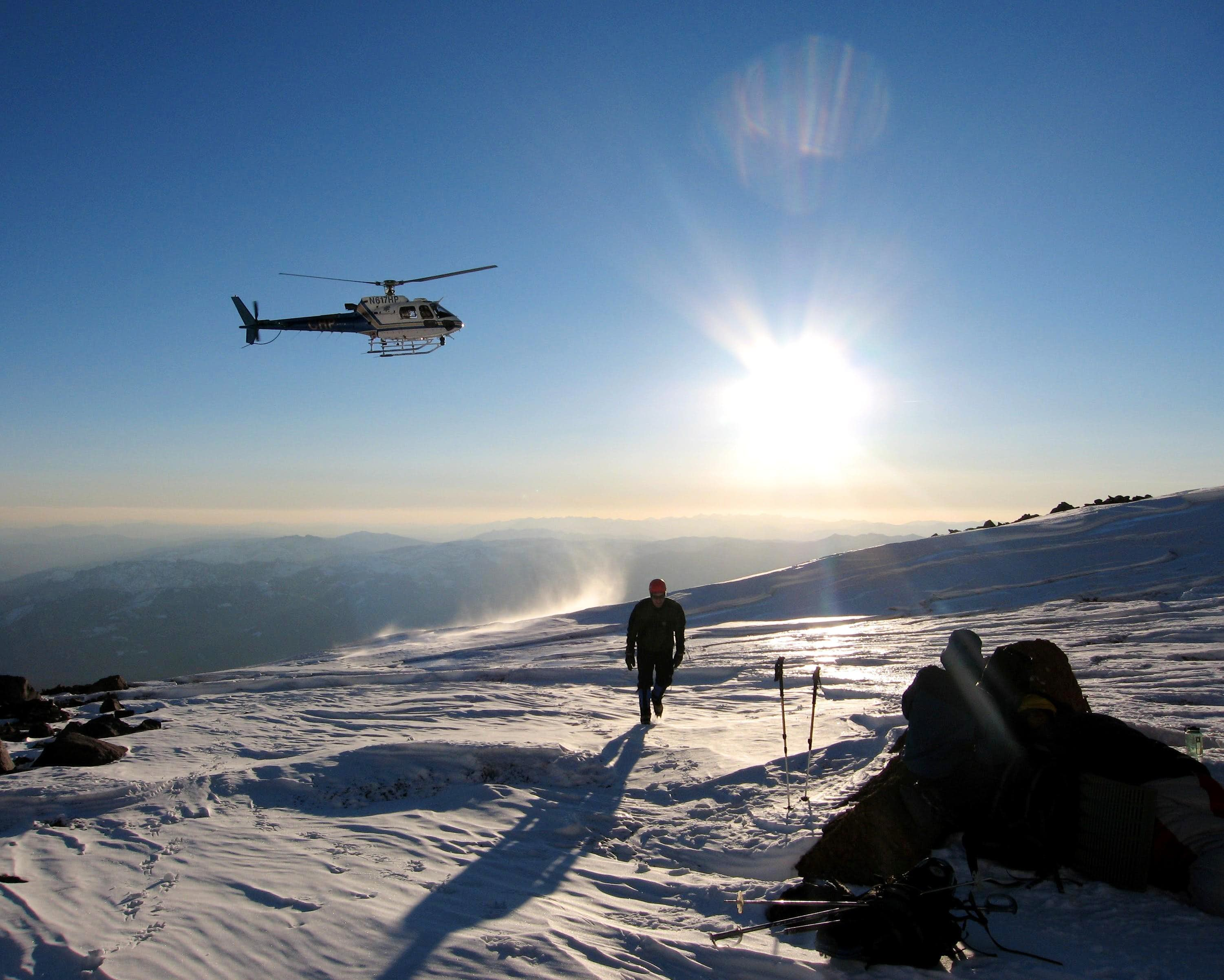 Winter Rescue on Mt. Shasta