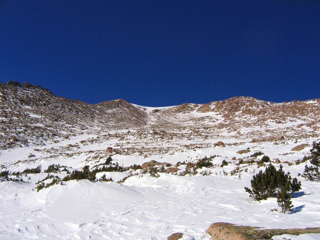 Pikes Peak east face