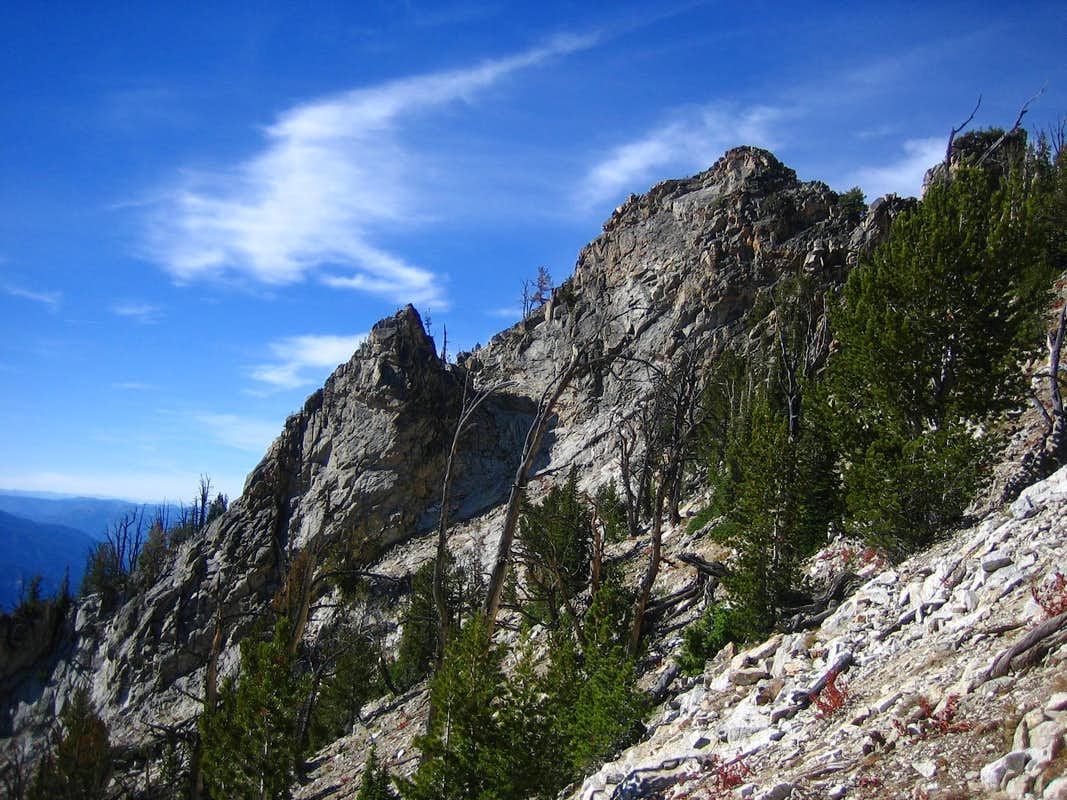 Moolack Mountain-West Ridge