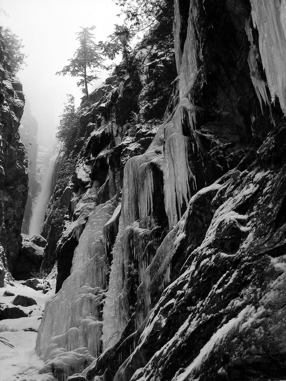 Snowy Cascade