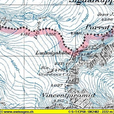 map with the information of...