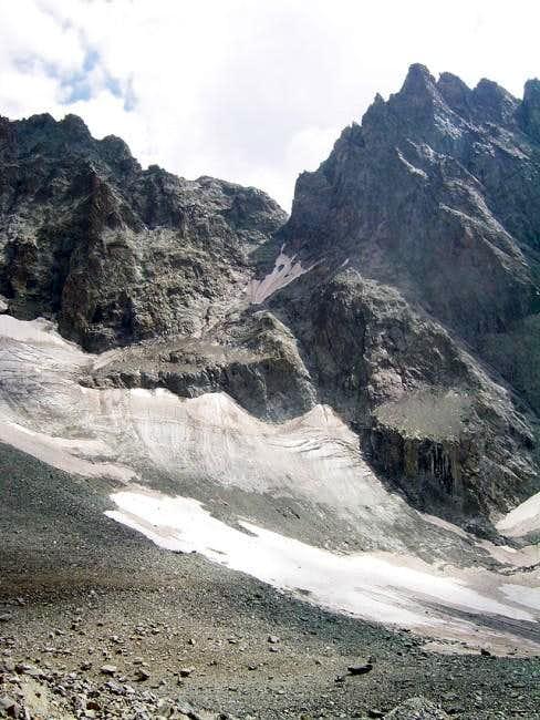 The Col des Ecrins
