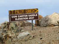 Cow Canyon Saddle, San Gabriel Mtns.