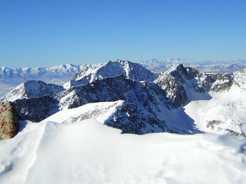 A view NW from Pfeifferhorn