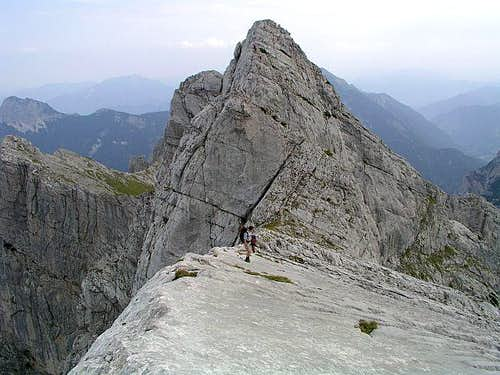 Hochtor over Dachlgrat
