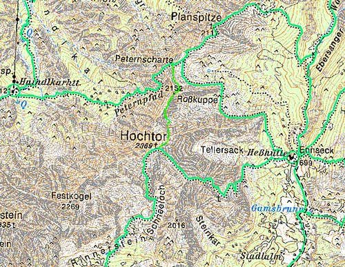 The Hochtor map.