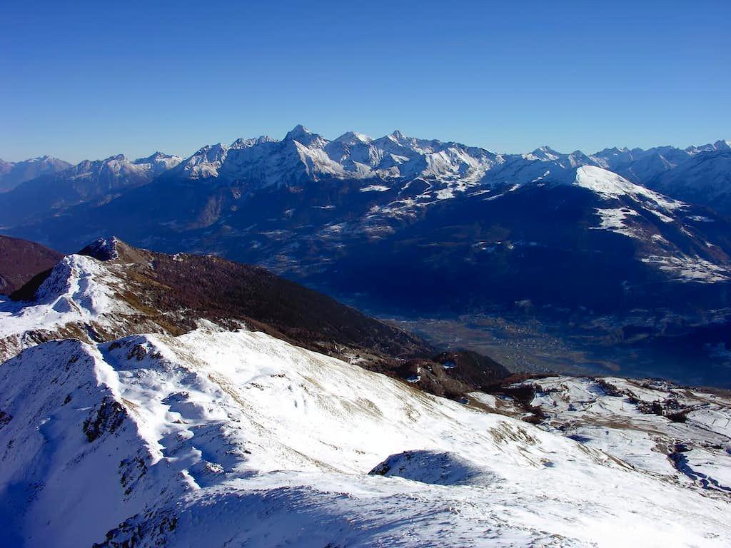 Il gruppo del Monte Emilius (3559 m)