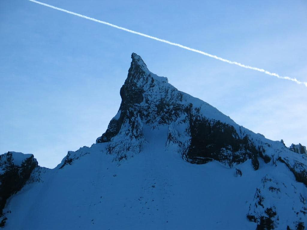 Mount Thielsen Winter Ascent