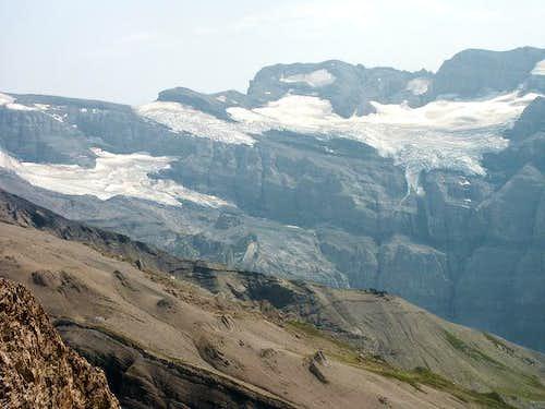 Glacier of Prazon near the...