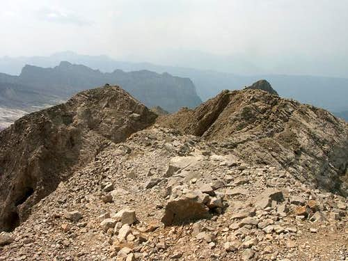 Occidental summit of the...