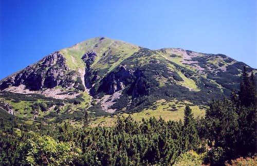 Starorobocianski/Klin from Rackova valley