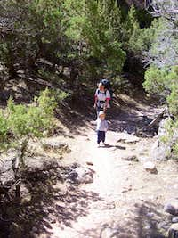 Backpacking in Jones Hole