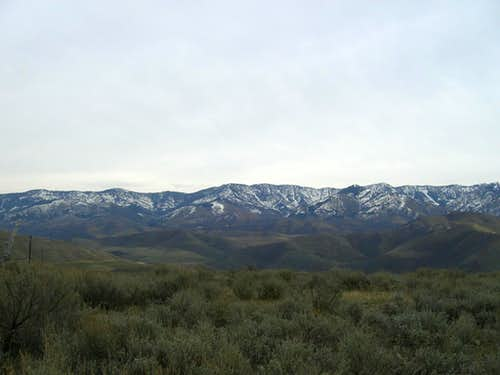 Wilderness Peak from Maple Creek