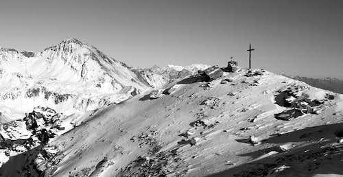 Il Mont Fallère (3061 m), dalla punta Leisse (2771 m)