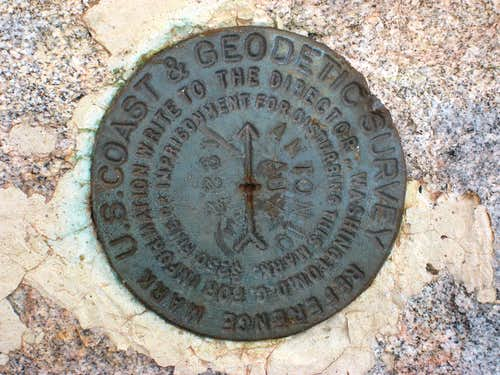 Marker on Lookout Mtn.#2-Not for Voting