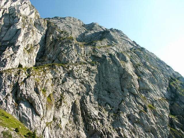 Mont Chauffé, N face,...
