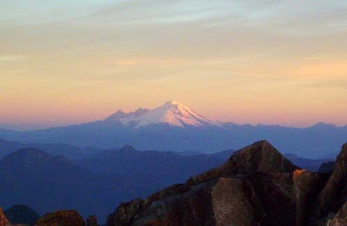 Mount Baker Sunrise Alpenglow