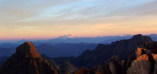 North Cascades Sunrise Panorama