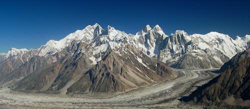 Kunyang Chhish and Pumari Chhish massifs