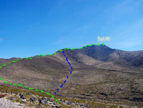 Black Mountain Routes