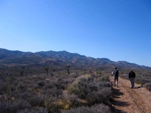 Gass Peak Trailhead