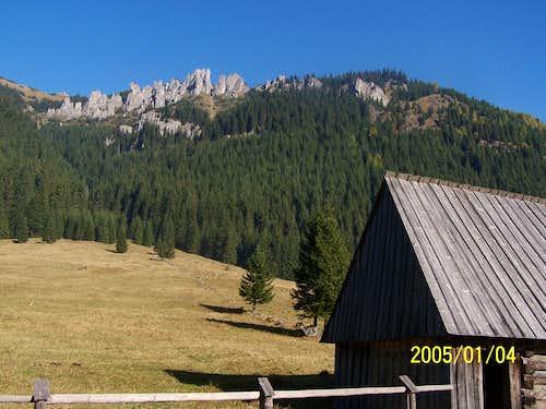Mnichy Chocholowskie at Chocholowska Valley