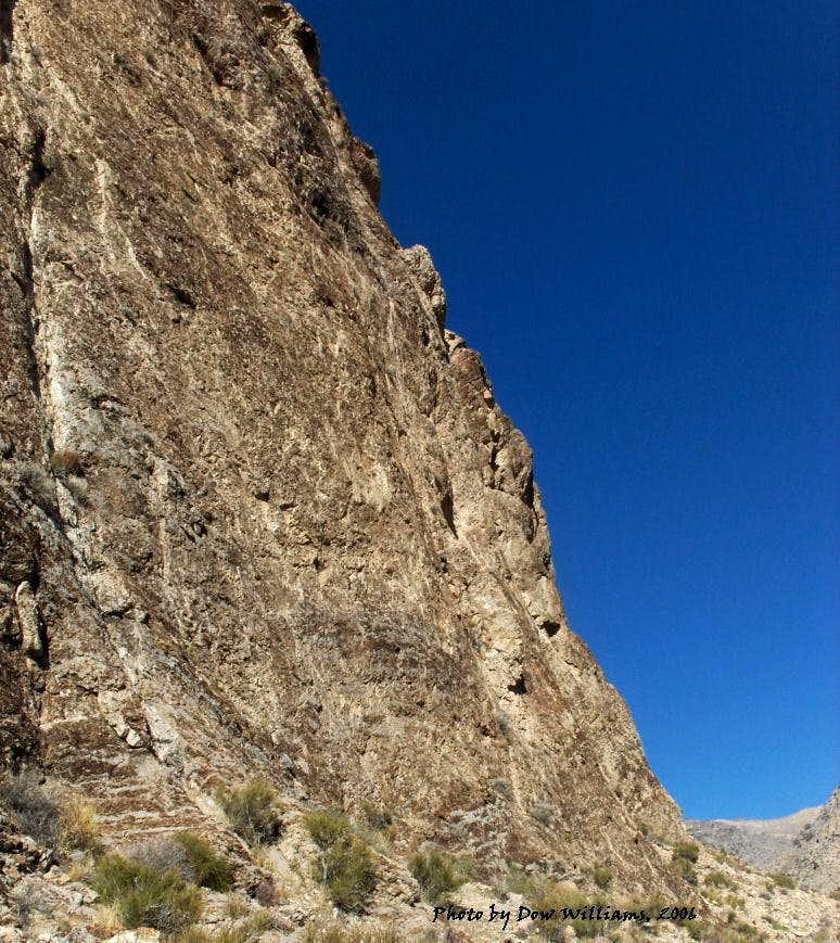 Solstice Wall, 5.7-5.11d