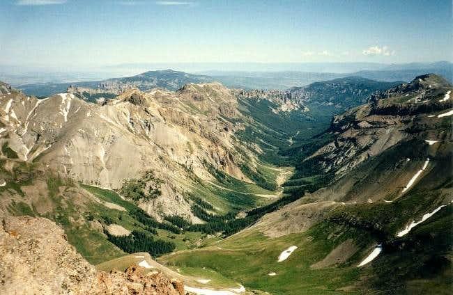 View From Uncompahgre Peak