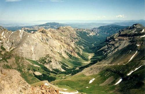 View From Uncompahgre Peak