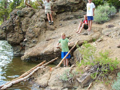 Big catch at Round Lake