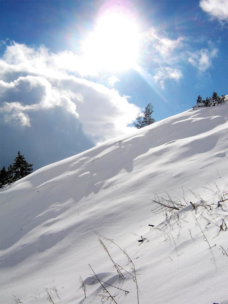On the slopes of Vran