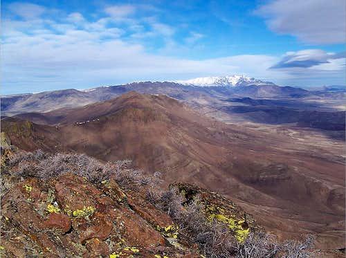 North towards Steens Mt