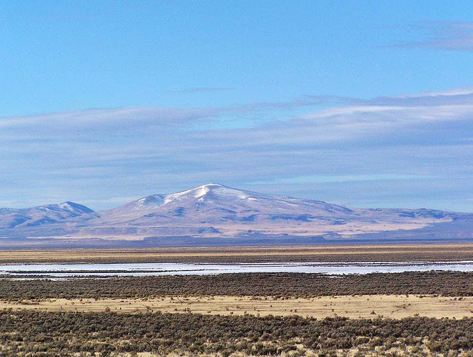 Looking across the Catlow Valley at Beatys Butte