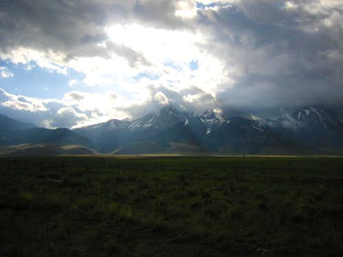 Stormy Morning on Lost River Range