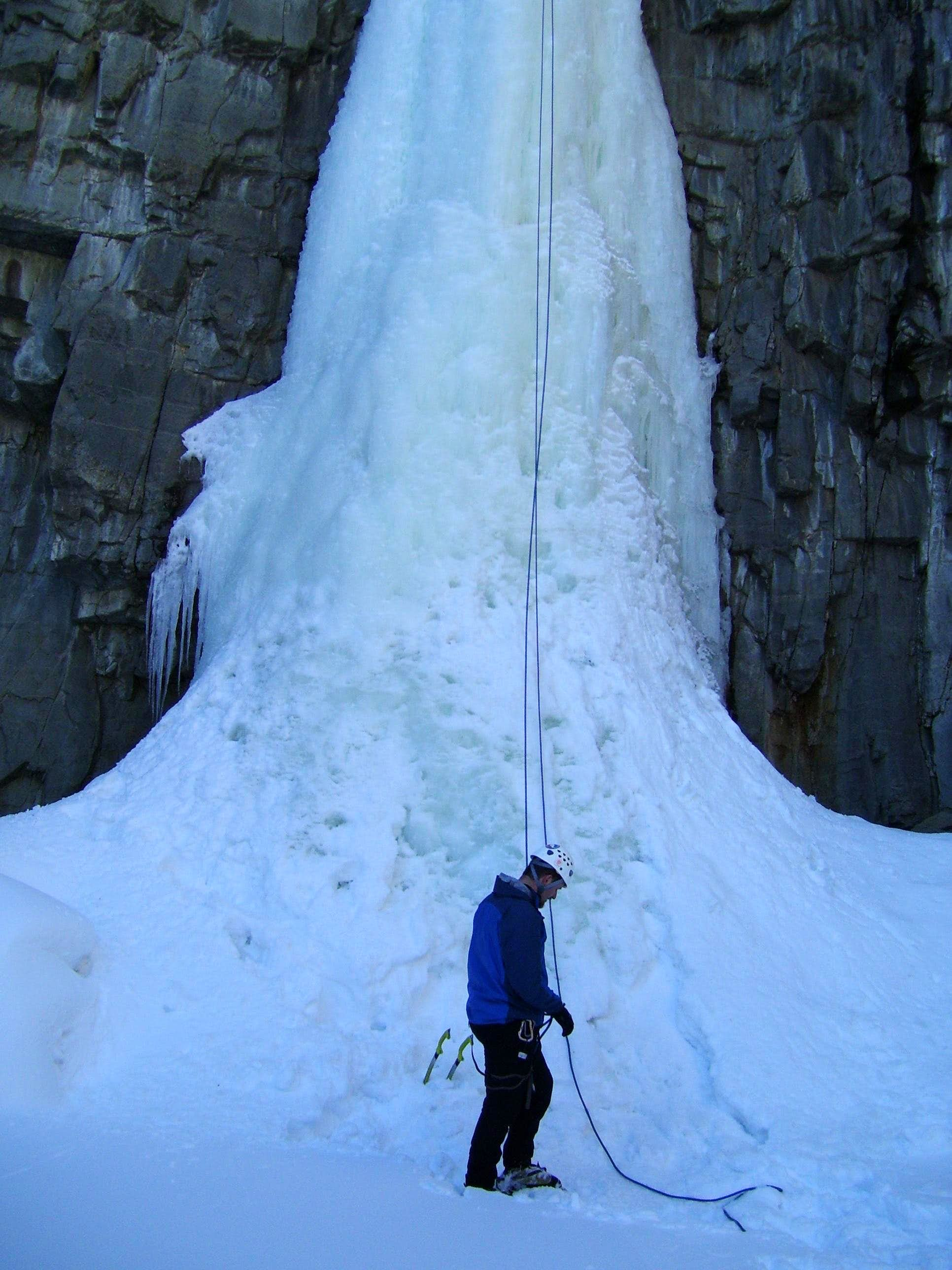 Morgan Creek Falls (Ice Climbing)