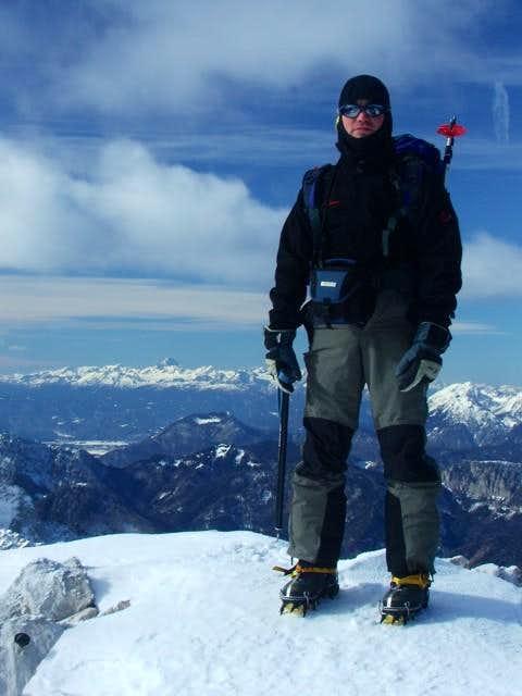 On the top of Kriz (Koroska Rinka)