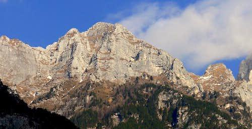 Monte Cimone south face