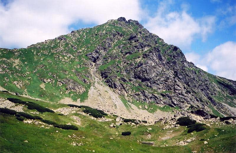 Ostry Rohac(2084) - South Face