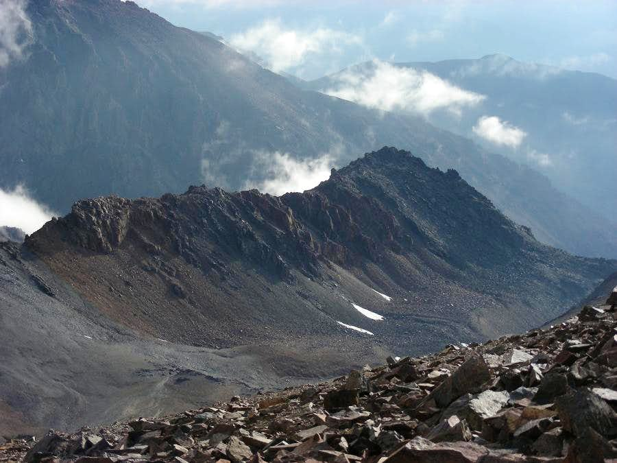Ridge from Stepanek to point 4221