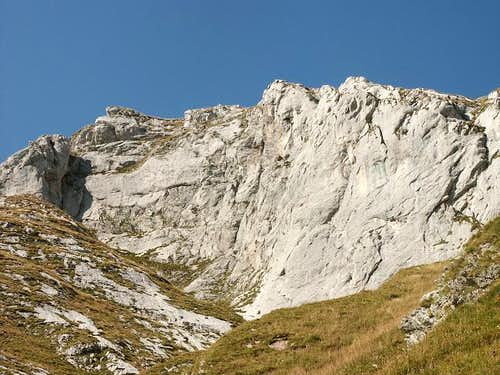 Dent d'Oche, east route : the...