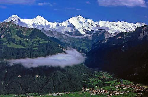 Eiger, Moench and Jungfrau