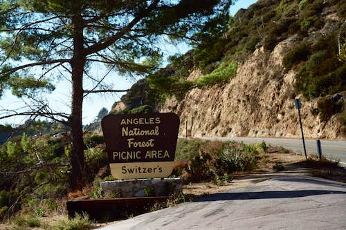 Switzer\'s Picnic Area, San Gabriel Mountains