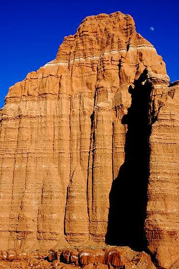 The Moon over <i>The Temple of the Moon</i>, Capitol Reef National Park