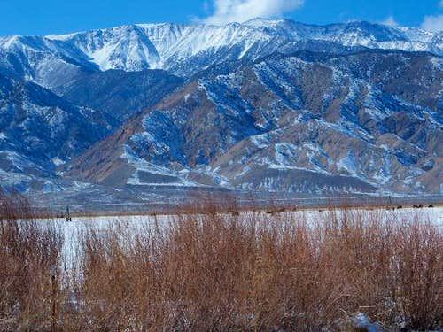 White Mountain Peak on the road to Dyer, Nevada