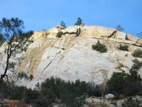 Right Face of Kernville Rock