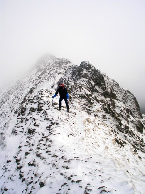 striding edge jan 07