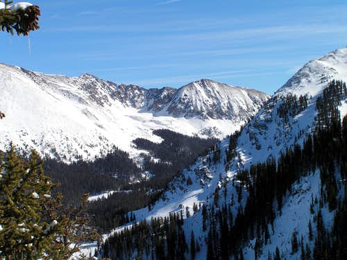 Pt 12,728 from Taos Ski Valley
